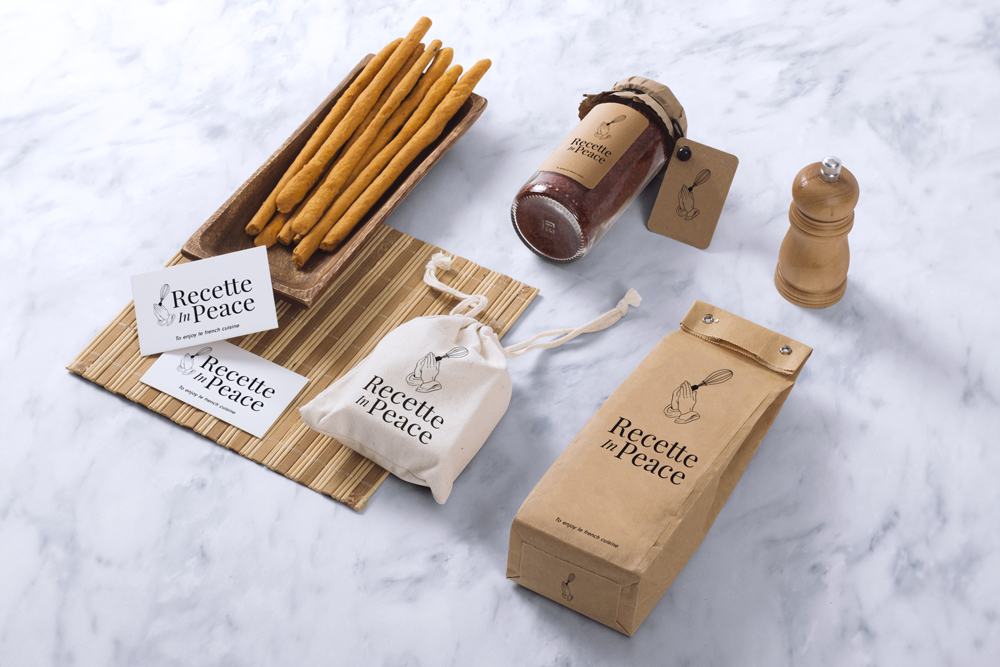 packaging recette in peace
