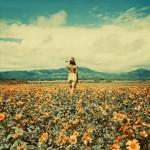 FLOWER GIRL by Neil Krug