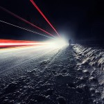 Night road © Mikko Lagerstedt