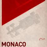 F1 Poster MONACO by PJ