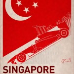 F1 Poster SINGAPORE by PJ