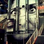 "JR ""Inside Out"" Installation @ Centre Pompidou"