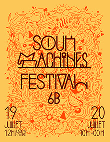 Flyer SOUKMACHINES FESTIVAL