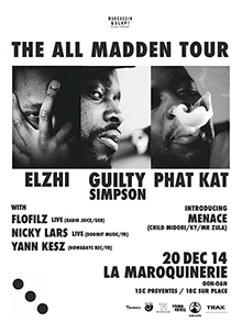 Flyer ALL MADDEN TOUR