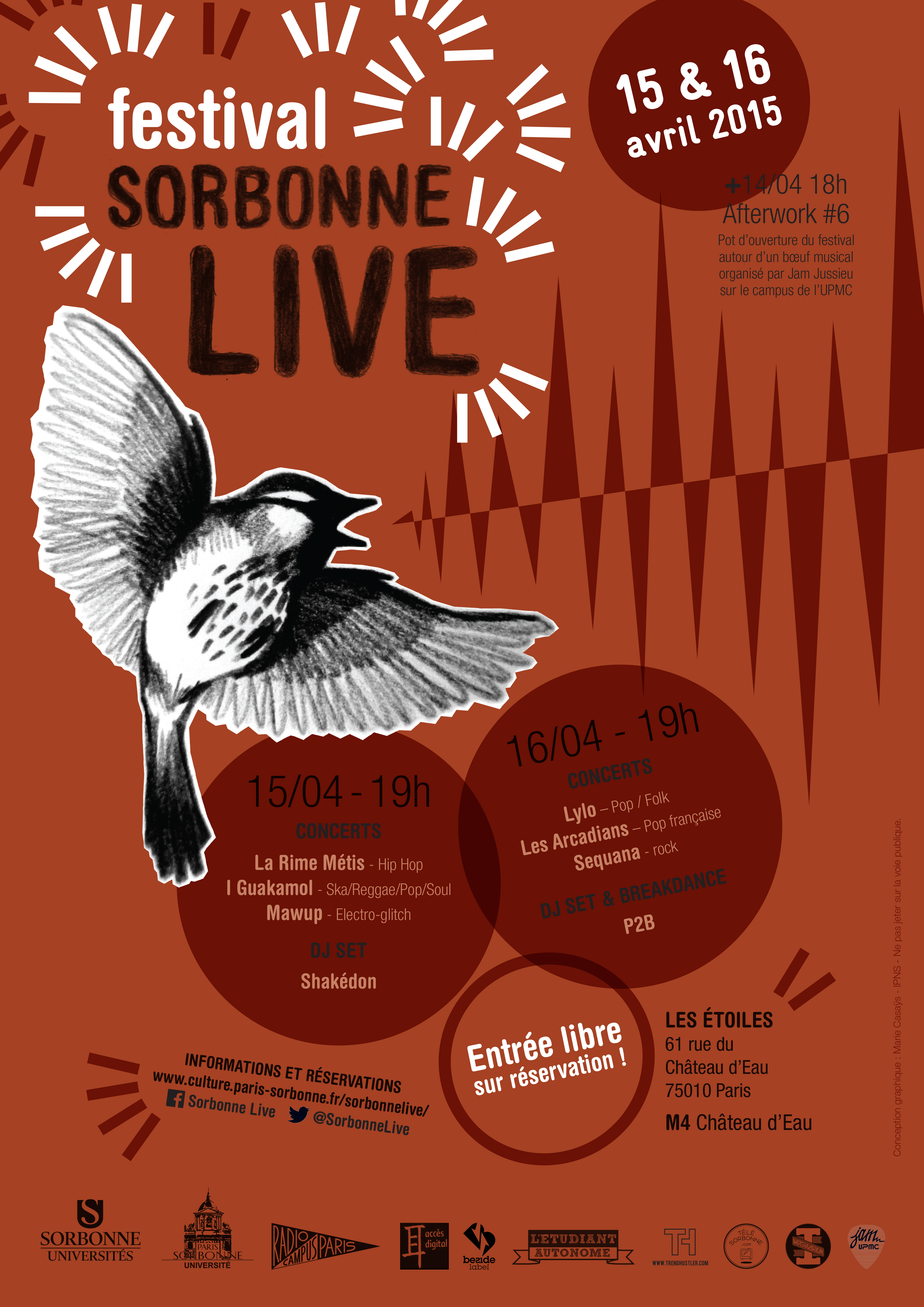 Sorbonne Live Affiche festival