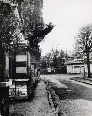 Le saut dans le vide, Yves Klein, 1960.