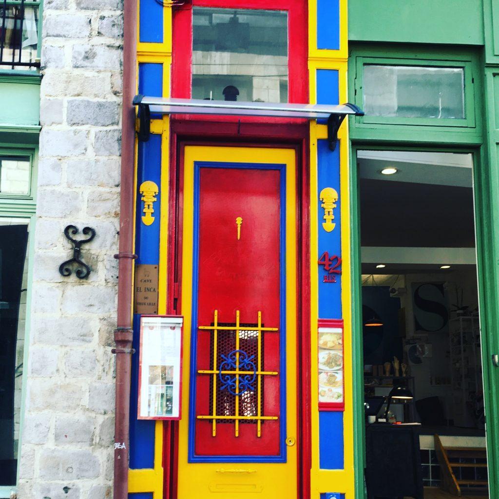 façade colorée Lille
