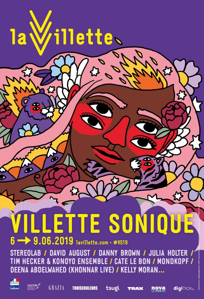 Affiche Villette sonique 2019