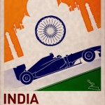 f1 poster india by PJ