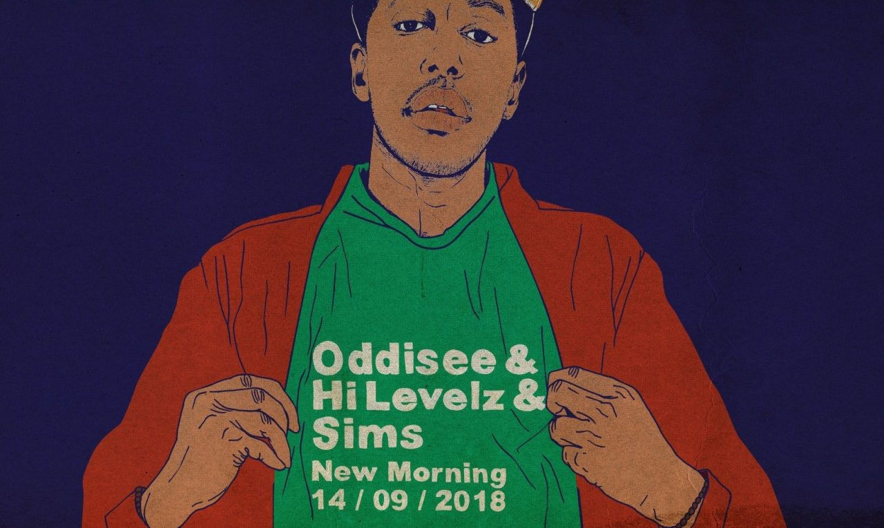 Oddisee / Hi Levelz / Sims le 14 septembre au New Morning